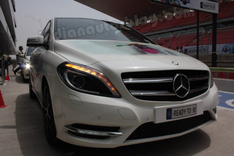 Mercedes B Class at the BIC