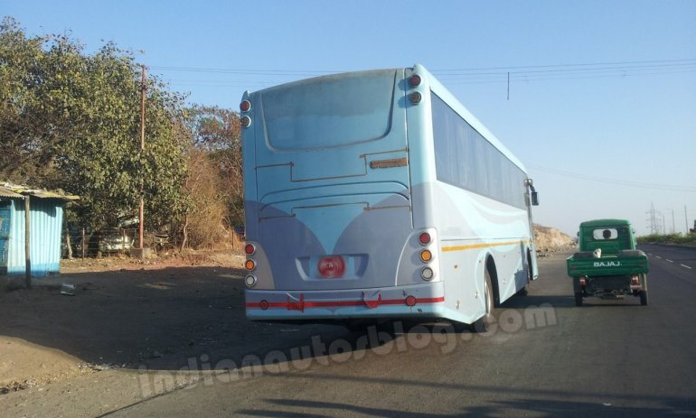 Mysterious bus in Pune Force-MAN possibly
