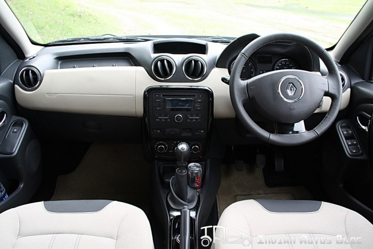 Renault Duster interiors
