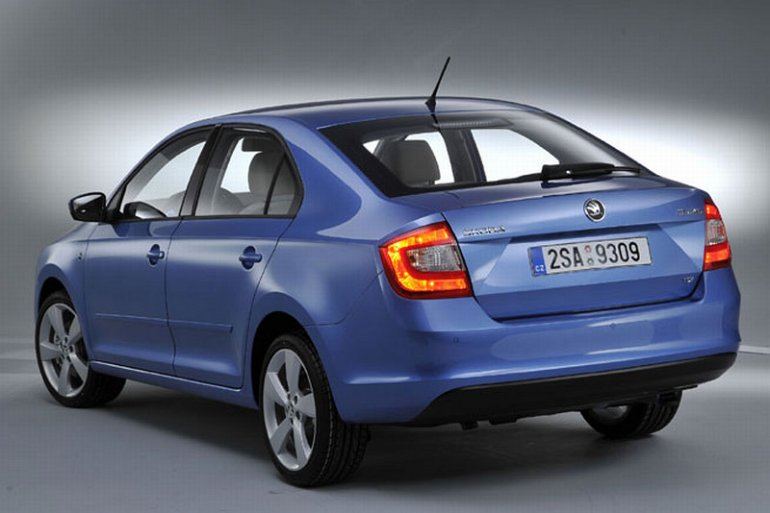 Skoda Rapid European edition rear