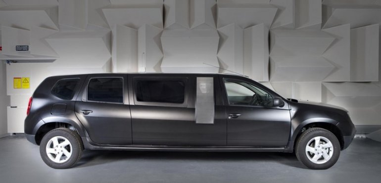 Dacia Duster Limousine side