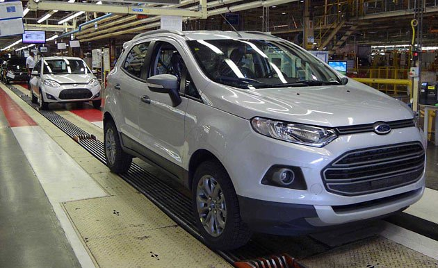 Ford EcoSport Brazil production line