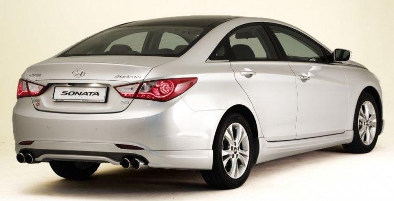 Hyundai Sonata Sport rear