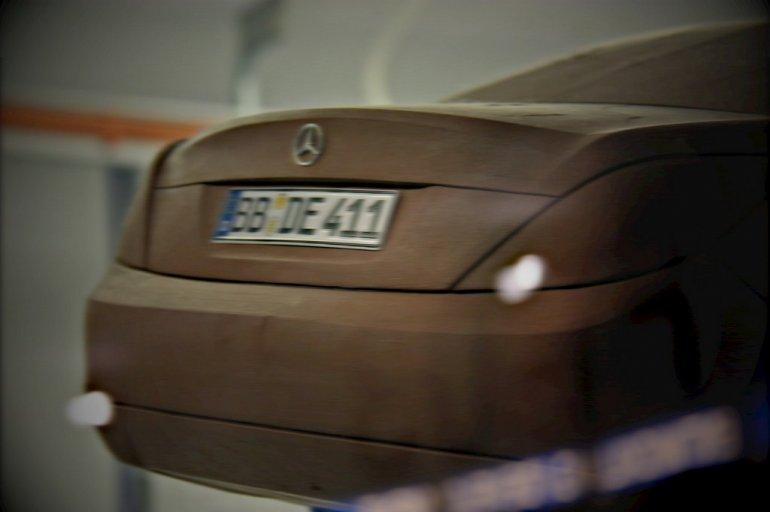 Mercedes S Class W222 rear