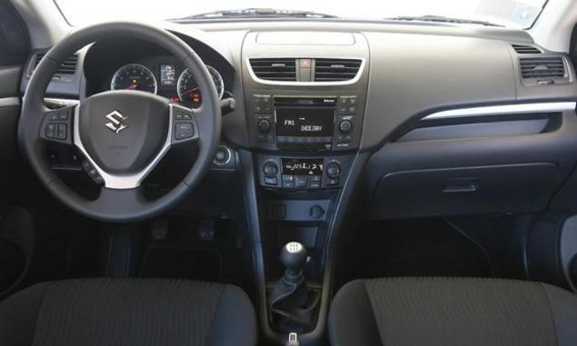 Suzuki-Swift-Navi-Style - dashboard