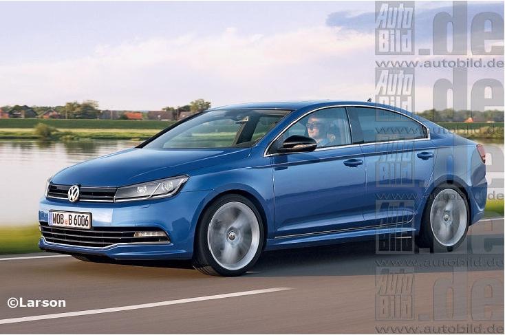 Volkswagen Jetta CC side