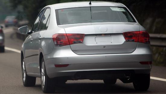 Volkswagen Santana rear