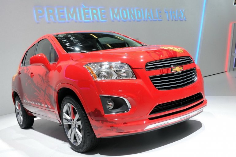 Chevrolet Trax at Paris Motor Show 2012