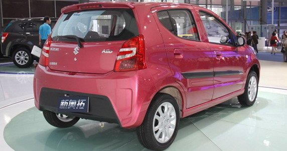 Facelifted Suzuki A star rear