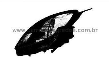 Honda Brio head lamp Patent filing