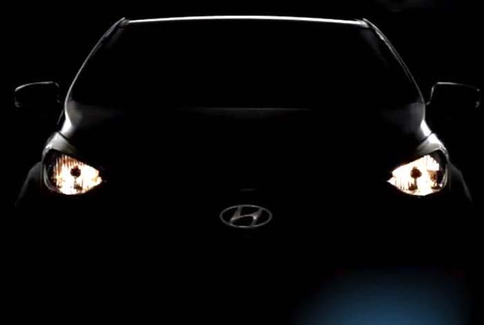 Hyundai HB20 front view