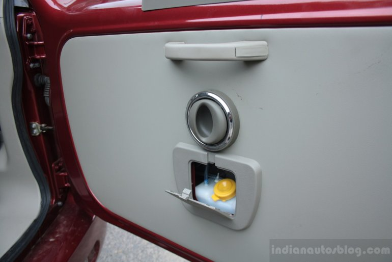 Mahindra Quanto rear door grip, release and washer tank