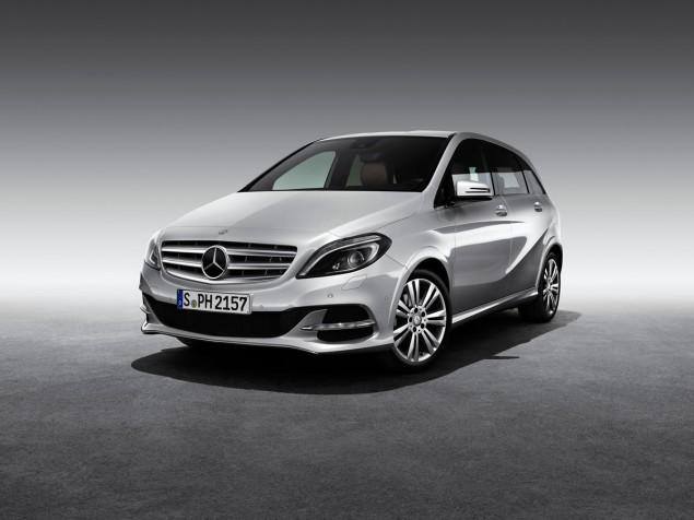 Mercedes Benz B 200 Natural Gas Drive