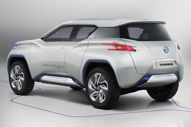 Nissan Terra FCEV Concept rear