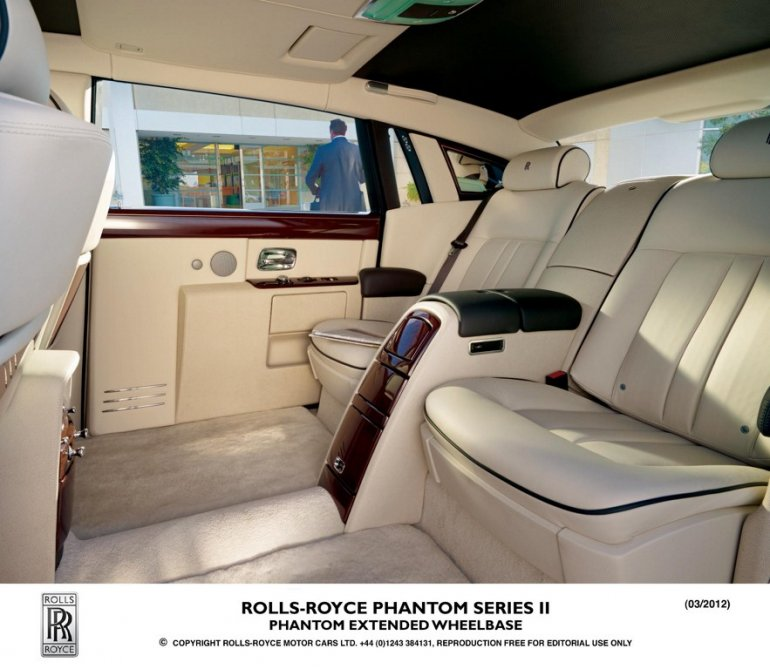 Rolls Royce Phantom Series II interior