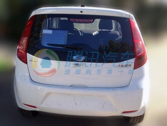 Chevrolet Sail EV rear