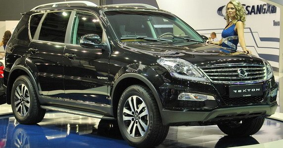 Ssangyong Rexton W at Moscow Motor show