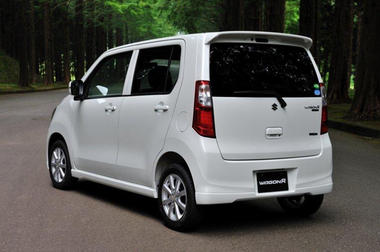 Suzuki Wagon R 2013 Japan rear
