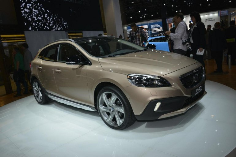 Volvo V40 at the 2012 Paris Motor Show