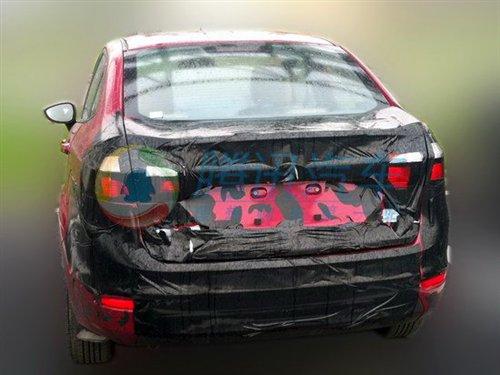 2013 Ford Fiesta rear