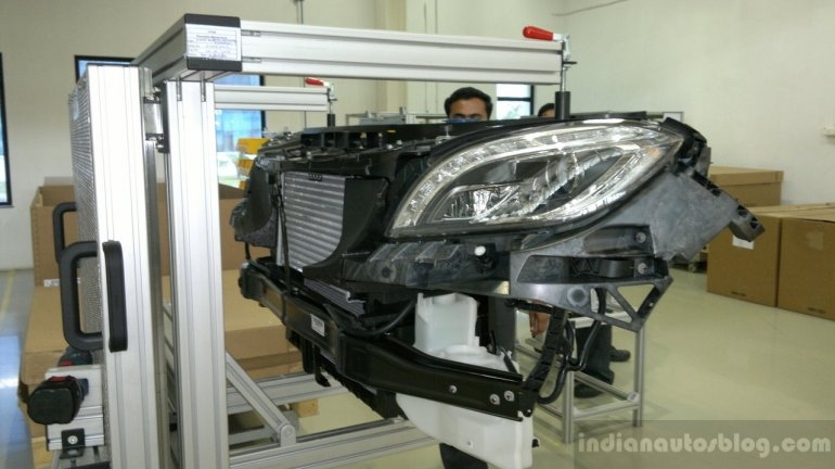 Assembly of the Mercedes ML250 CDI in Chakan
