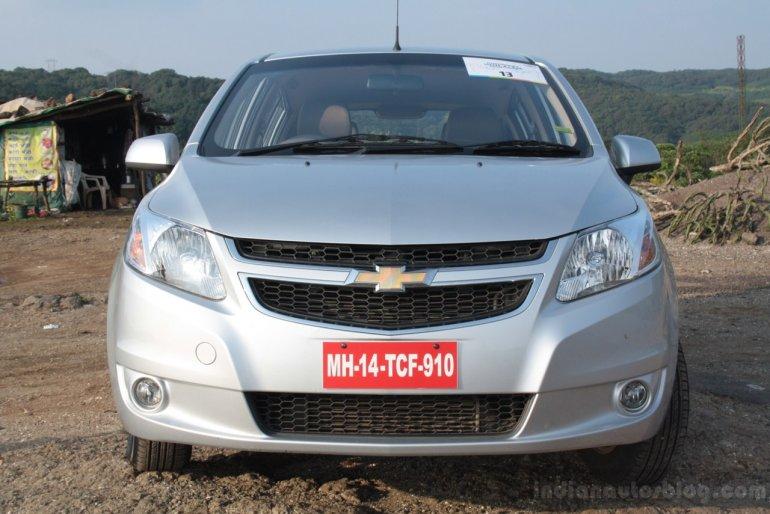 Chevrolet Sail U-VA front fascia