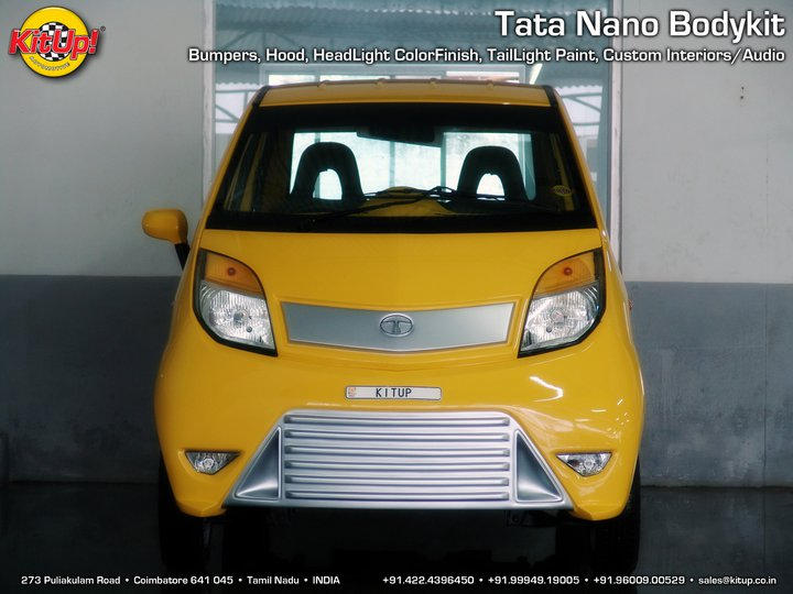 Kit Up Tata Nano front