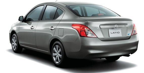Nissan Latio rear