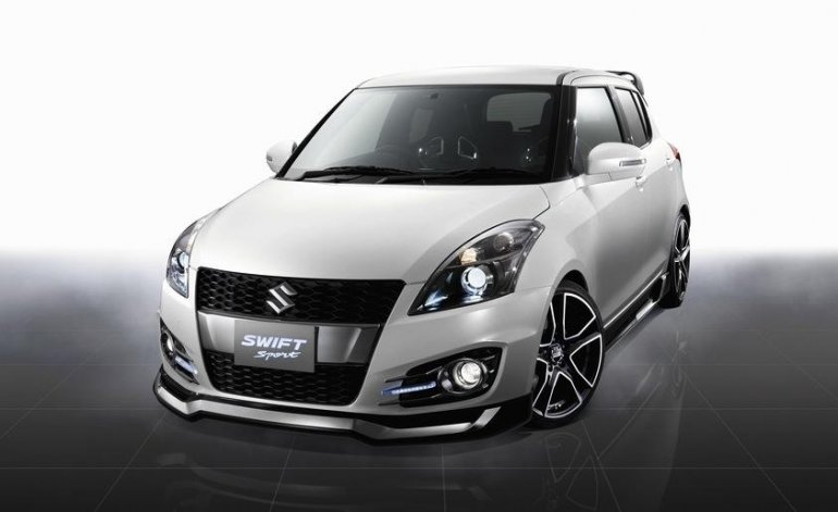 Suzuki Swift Sport front fascia