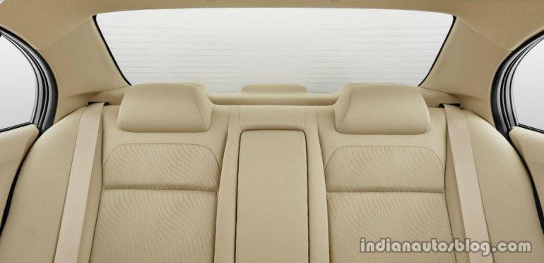 Honda Brio Amaze rear seat
