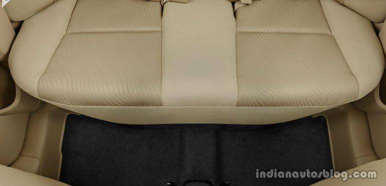Honda Brio Amaze rear leg space