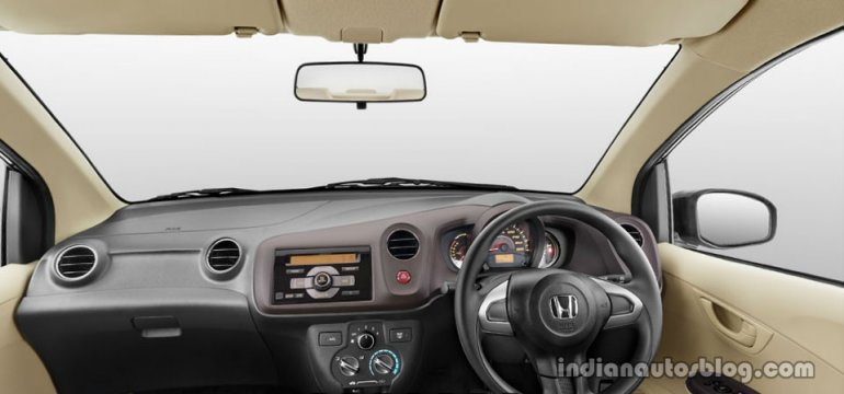 Honda Brio Amaze dashboard