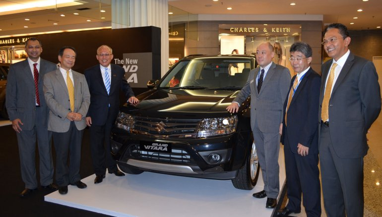 Suzuki Vitara Facelift unveiled in Malaysia