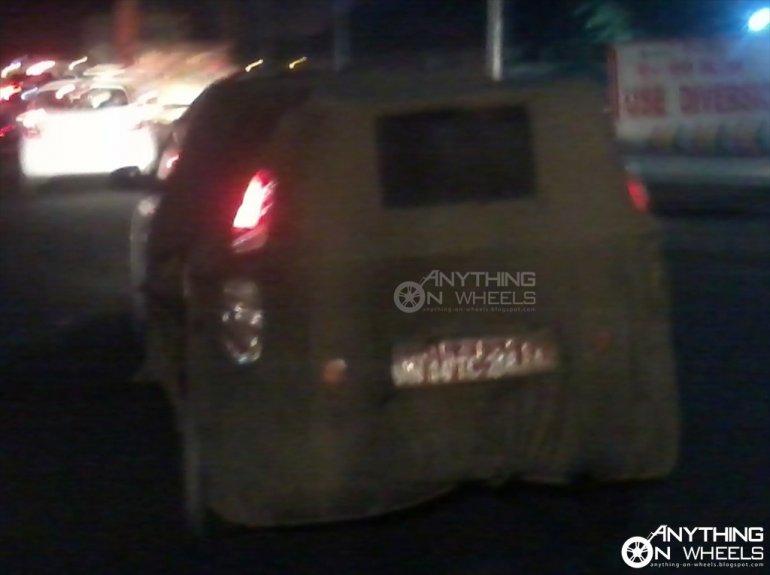 Tata Indica XL CR4 rear spied
