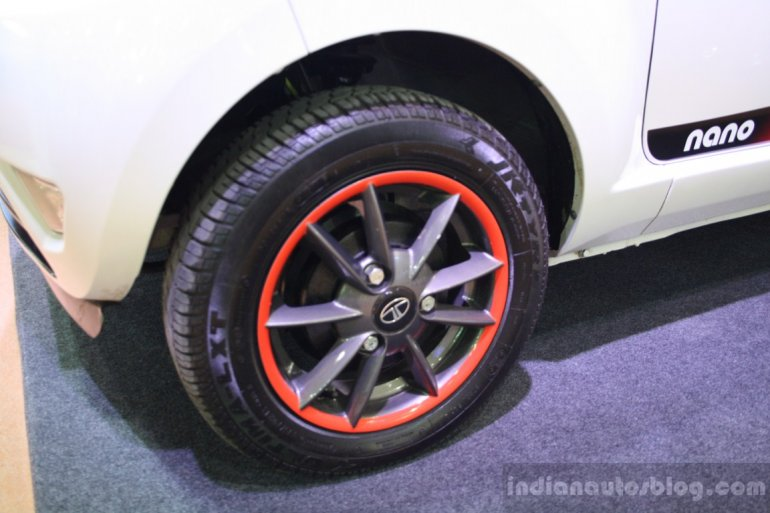 Tata Nano Individualized Concept alloy wheels
