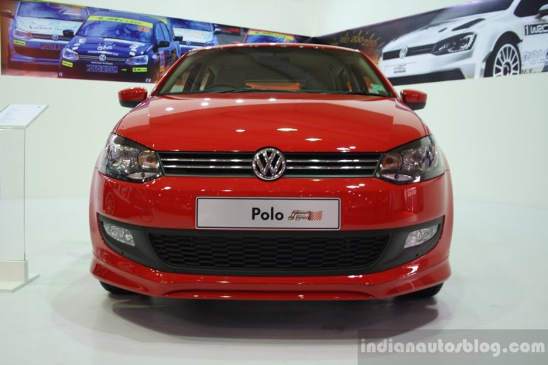 VW Polo SR Edition front fascia