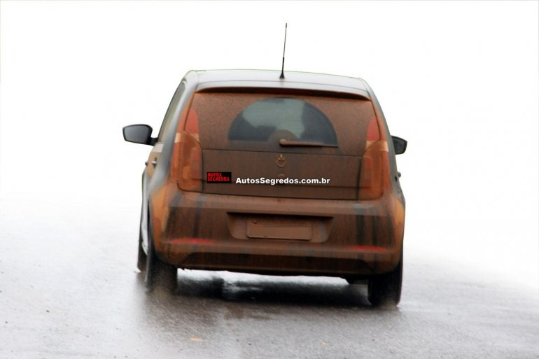 VW Up emerging market variant rear