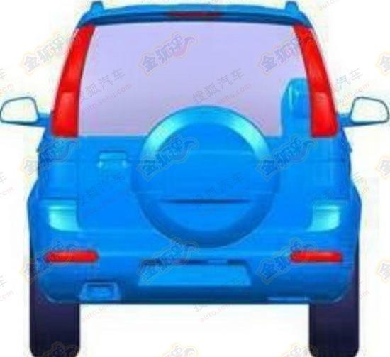 Zotye 5008 facelift rear