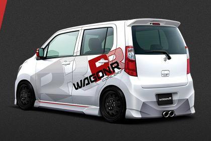 Wagon R RR rear