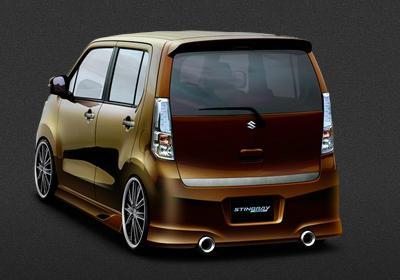 Suzuki Wagon R Stingray custom rear