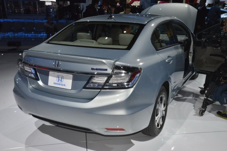 2013 Honda Civic rear