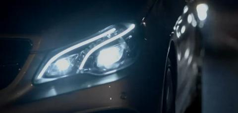 2013 Mercedes E Class cabrio headlamps