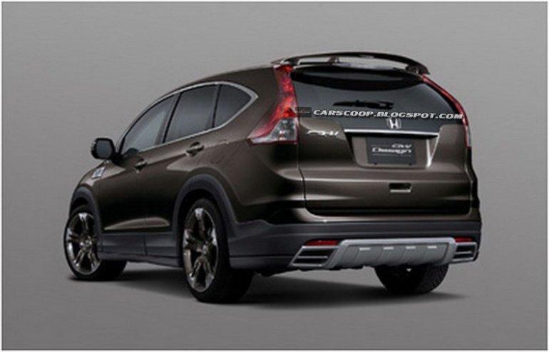 2013 Mugen Honda CR-V rear