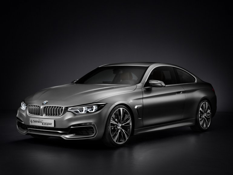 BMW Concept 4 Series Coupe front three quarter