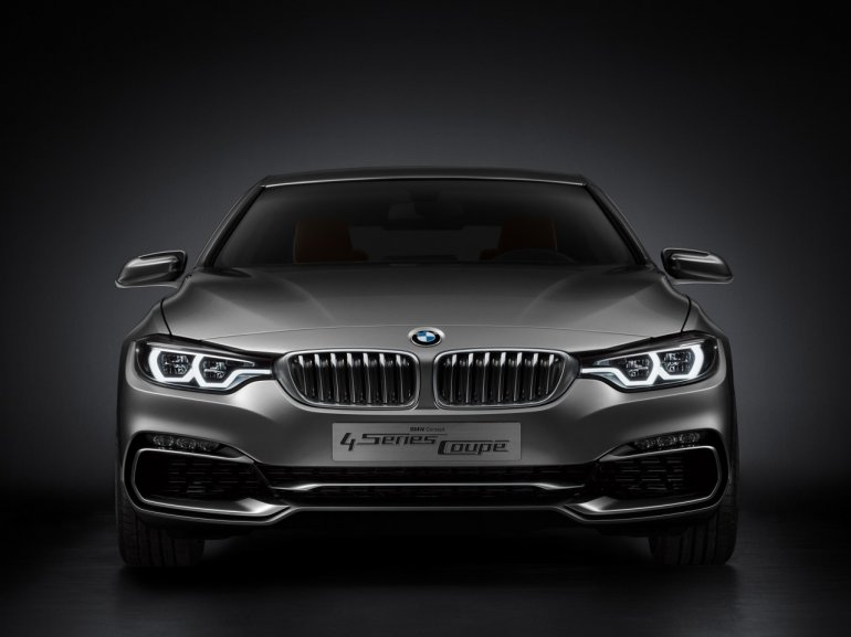 BMW Concept 4 Series Coupe front