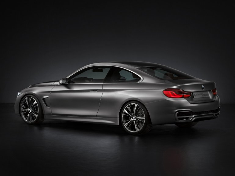 BMW Concept 4 Series Coupe rear three quarters