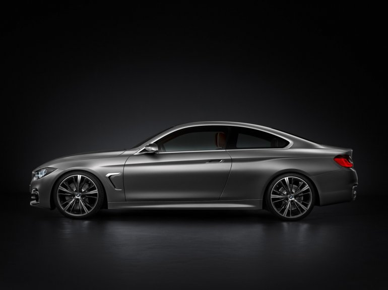 BMW Concept 4 Series Coupe side view