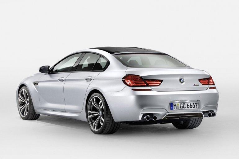 BMW M6 Gran Coupe rear