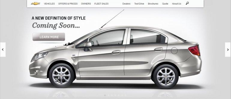 Chevrolet Sail Sedan teaser
