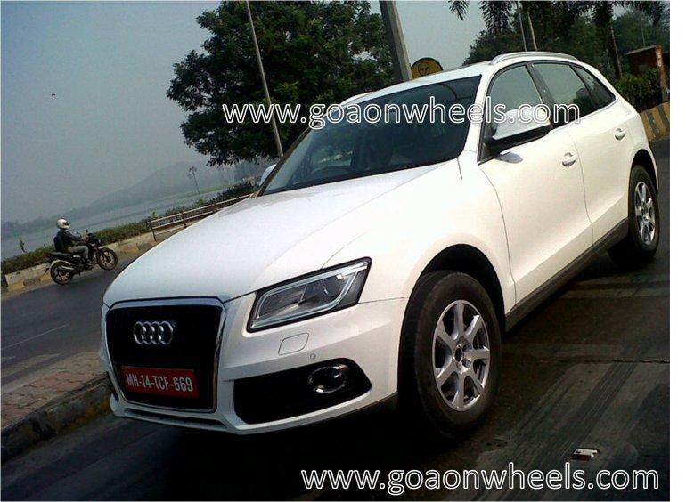 Facelifted Audi Q5 India